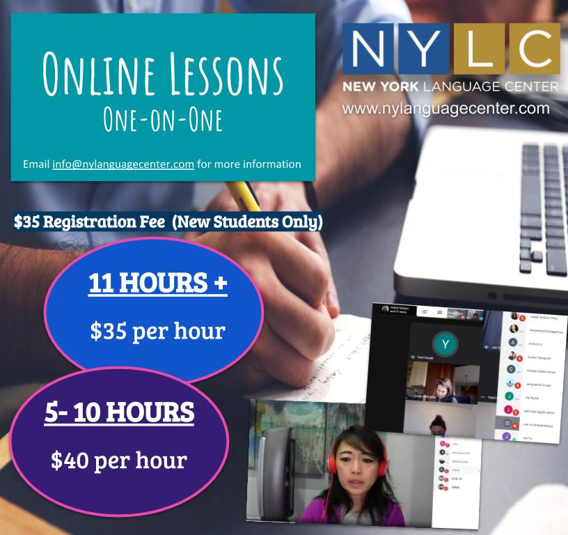 Online Private Instruction